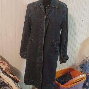 Vintage GAP denim duster jacket